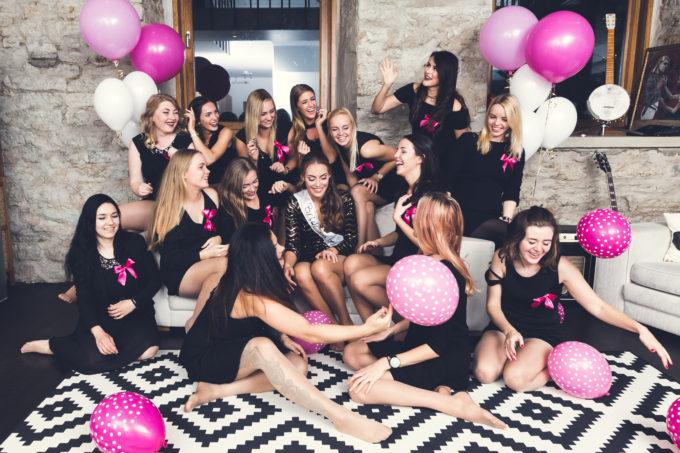 Tüdrukuteõhtu pruudiga Fahle majas Tallinnas