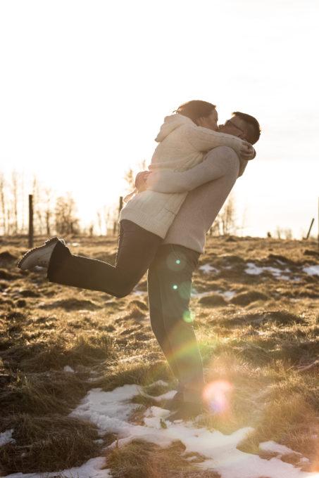 Kallistamine päikesepaistes