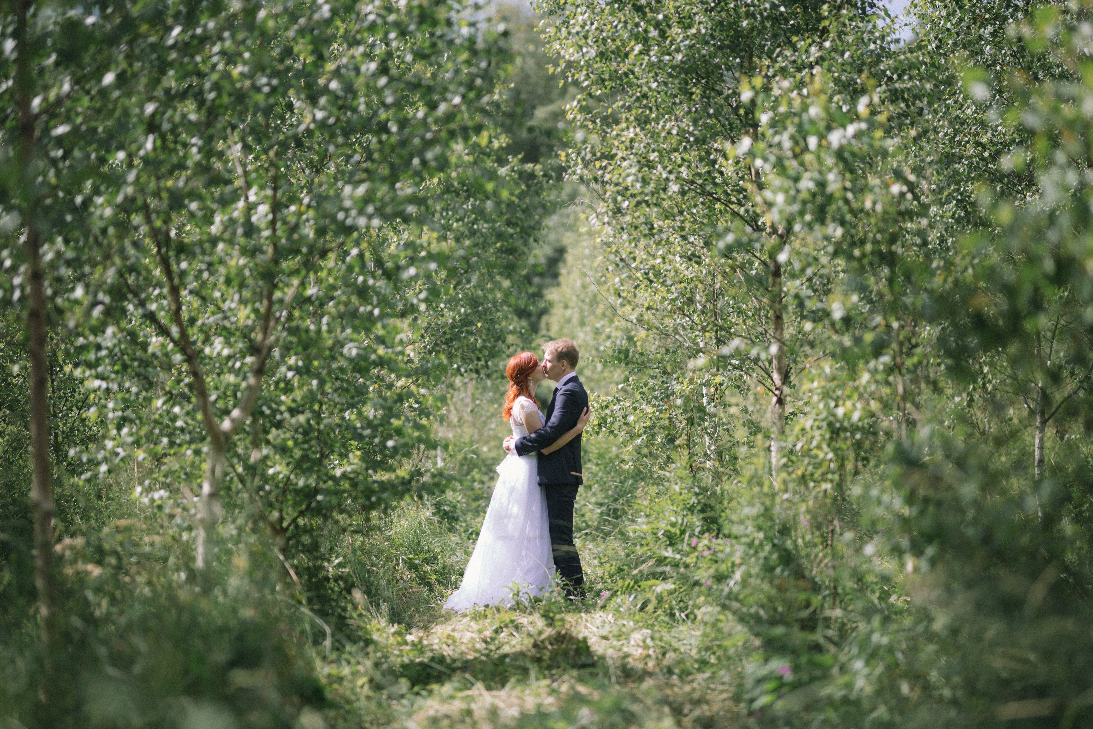 Fotograaf pulma pildistamas