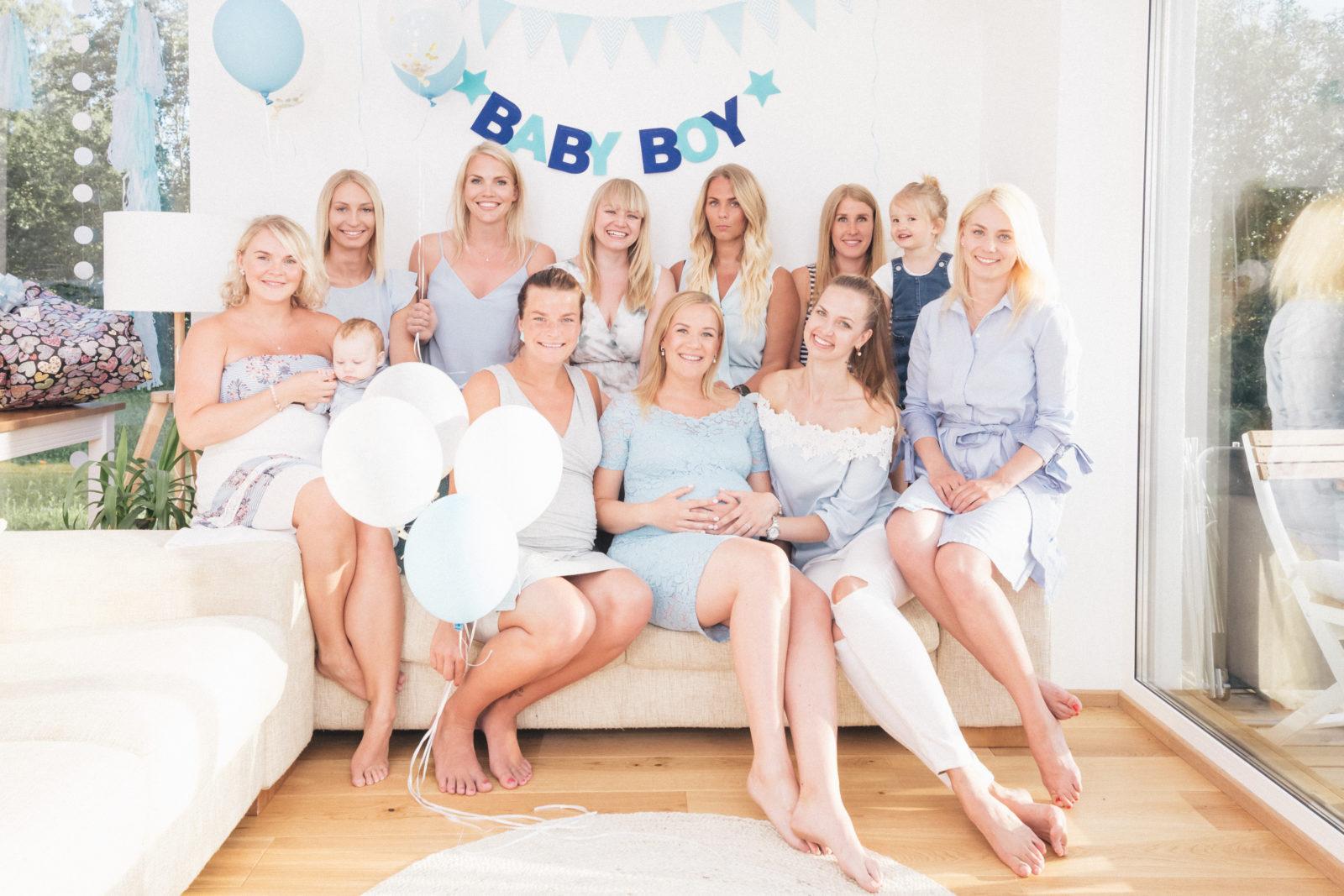 Babyshower sõbrannadega kodus