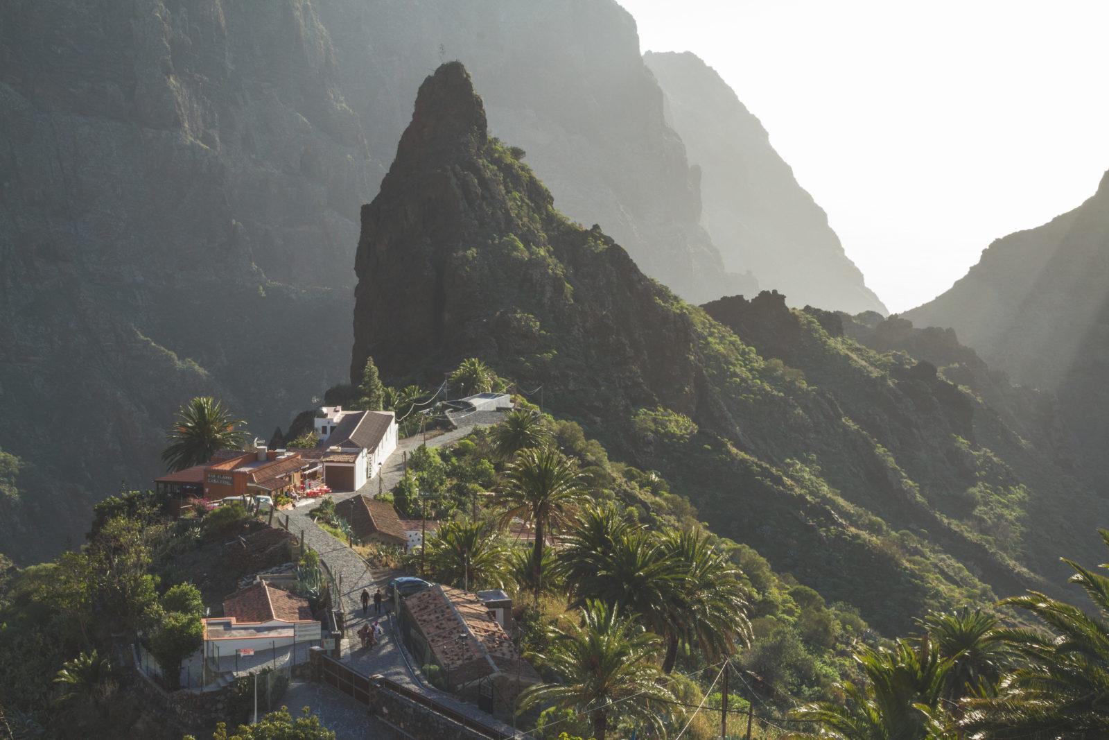 Masca vaade Tenerifel