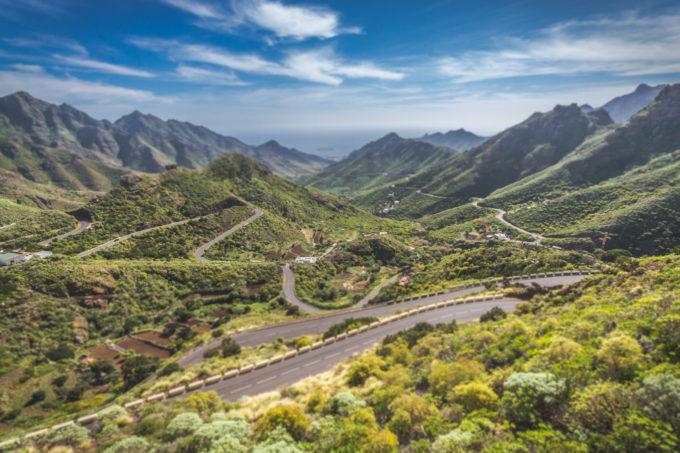 Anaga rahvuspargi teed