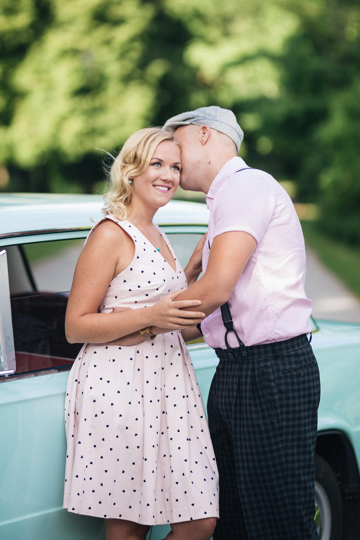 Portreefotod kihluse pildistamine