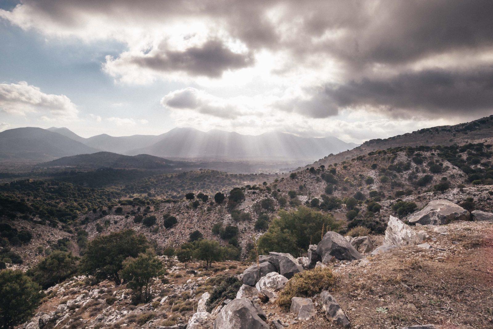 Kreeta maastikuvaade