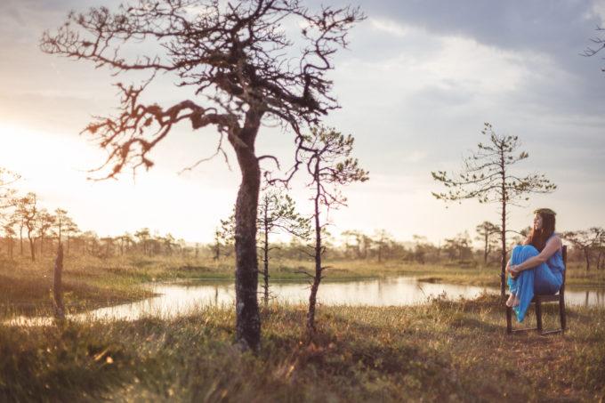 Portree fotosessioon fotograafiga looduses
