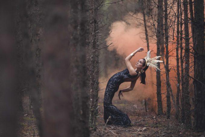 Fantaasiafoto pildistamine looduses