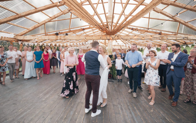 Taani traditsiooniline pulmamäng Eesti pulmas