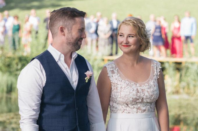 Pruutpaar tseremoonia ajal