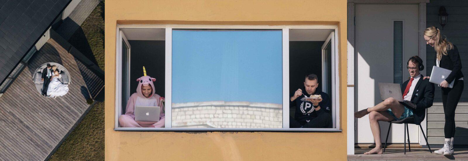 Koroonaaja karantiinipildid Tallinnas