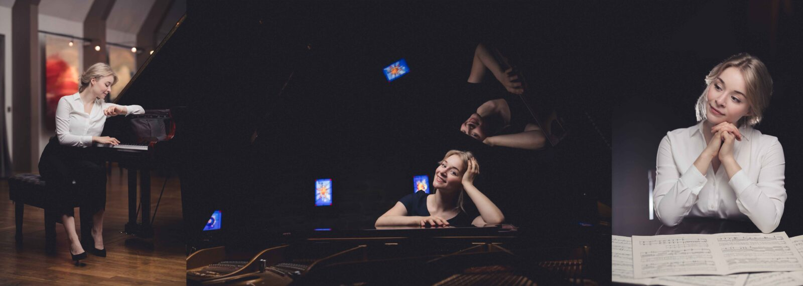 Pianist Marite Männiste portree