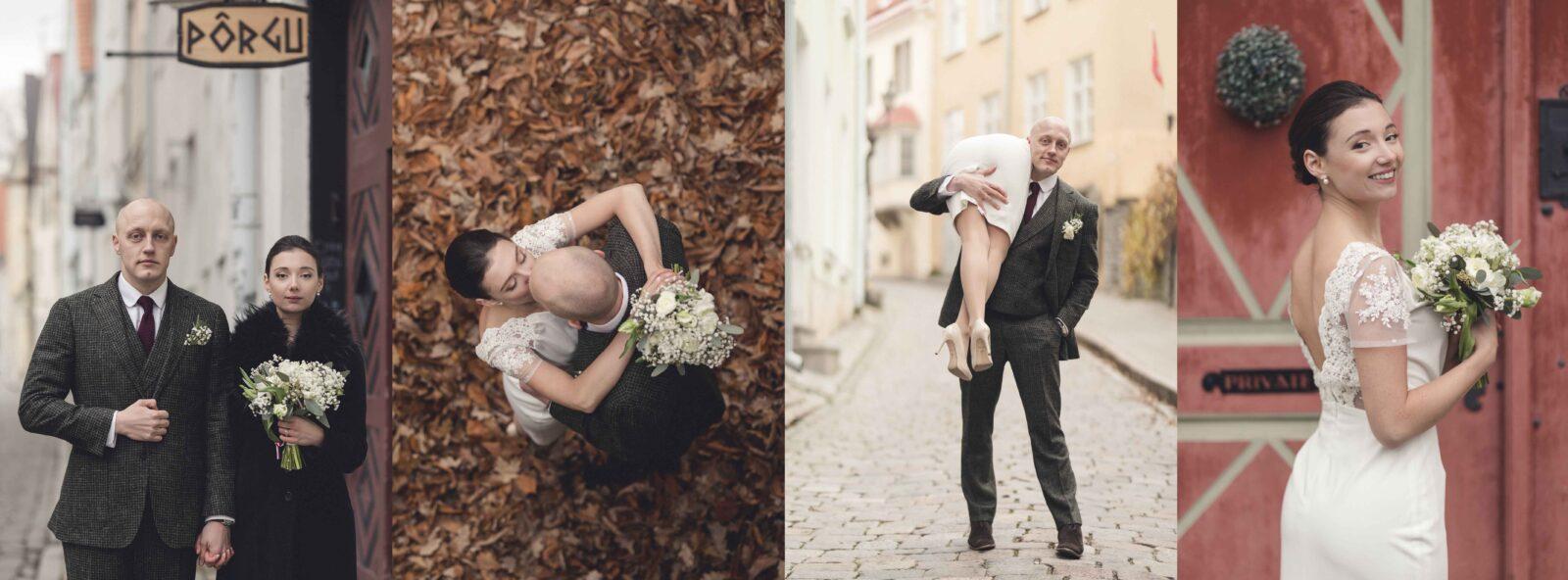 Kaunid pildid pruutpaarist pulmapäeval